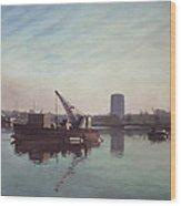 Southampton Northam River Itchen Wood Print