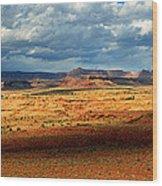 Southeastern Utah Desert Panoramic Wood Print