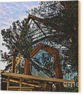 Southern California's Wafarers Chapel 2 Wood Print