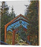 Southern California's Wafarers Chapel 3 Wood Print