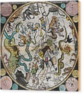 Southern Celestial Planisphere 1790 Wood Print