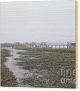 Southern Ebb And Flow Wood Print