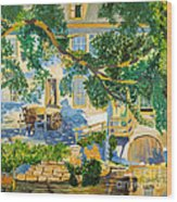 Southern Life By Stan Bialick Wood Print