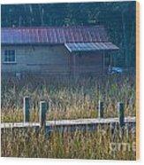 Southern Marsh Wood Print