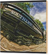 Southern Pacific 2472 Steam Engine 1921 Sunol Station Wood Print