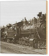 Southern Pacific Steam Locomotives No. 2847 2-8-0 1901 Wood Print