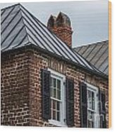 Southern Rooftops Wood Print