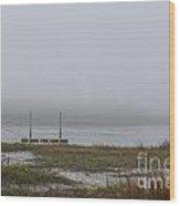 Southern Sea Fog Wood Print