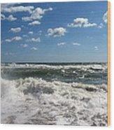 Southern Shores Splash Wood Print