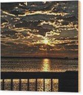 Southern Sunrise Wood Print
