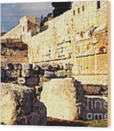 Southern Temple Mount Wood Print