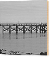 Southport Fishing Pier Wood Print