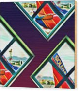 Southwest Airlines Wood Print