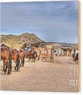 Southwest Ride Wood Print