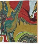 Southwestern Design Wood Print