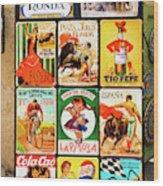 Souvenir Copies Of Old Spanish Wood Print