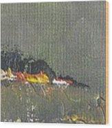 Souvenir De Vacances #26 - Memory Of A Vacation #26 Wood Print