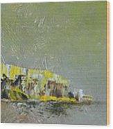 Souvenir De Vacances #28 - Memory Of A Vacation #28 Wood Print