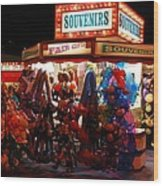 Souvenirs And Fair Gifts Wood Print