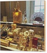 Souvenirs And The Palace Of Versailles Wood Print