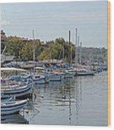 Sozopol Harbour Bulgaria. Wood Print