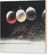 'space-circles'... Wood Print