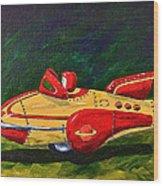 Space Patrol Two Wood Print