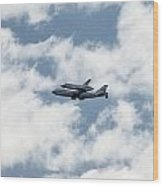 Space Shuttle Enterprise  Wood Print by Wayne Gill