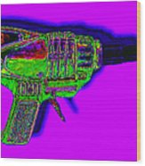 Spacegun 20130115v4 Wood Print