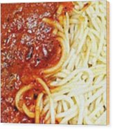 Spaghetti Wood Print