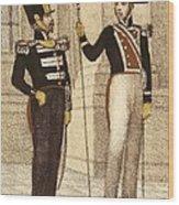 Spain 1833. Royal Guard Infantry Wood Print