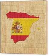 Spain Wood Print
