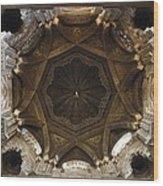 Spain. Cordoba. Mezquita Mosque. Dome Wood Print