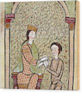 Spain Courtly Love Wood Print
