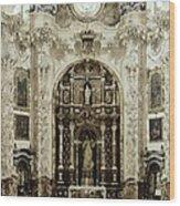 Spain. Granada. Cartuja Carthusian Wood Print