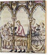 Spain: Medieval Hospital Wood Print