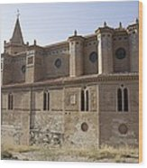 Spain. Teruel. Montalb�n. Church Wood Print