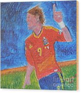 Spain World Soccer Number 1 Wood Print