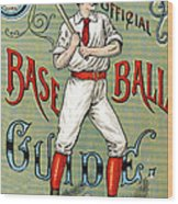 Spalding Baseball Ad 1189 Wood Print by Unknown