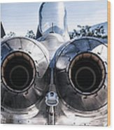 Spanish Air Force F-18 Hornet Wood Print