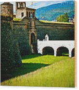 Spanish Castle Wood Print