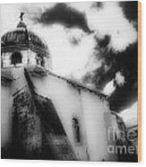 Spanish Cathedral Philippines Wood Print