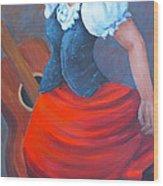 Spanish Dancer 2 Wood Print