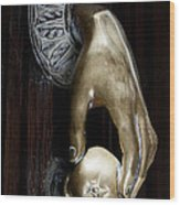 Spanish Door Knocker Wood Print
