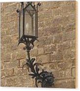 Spanish Lamp Wood Print