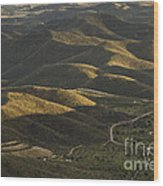 Spanish Landscape In Andalusia Wood Print