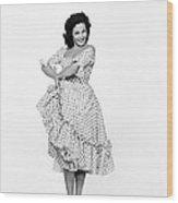 Spanish Star Carmen Sevilla. Wood Print