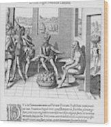 Spanish Traveller Girolamo Benzoni Wood Print