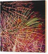 Sparkling Night Wood Print