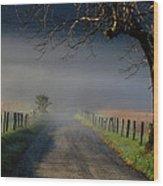 Sparks Lane Sunrise II Wood Print